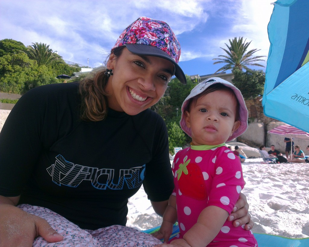 My ladies at the beach