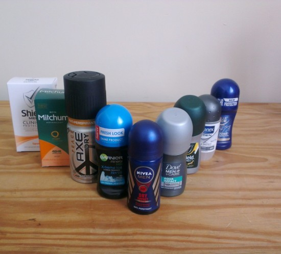 The No Sweat Antiperspirant Shootout