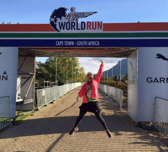 Running for those who can't – the 2015 Wings for Life World Run